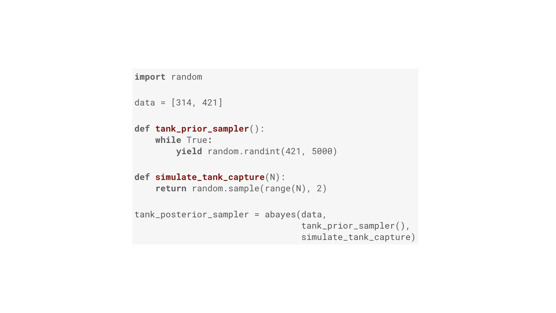 Probabilistic programming from scratch